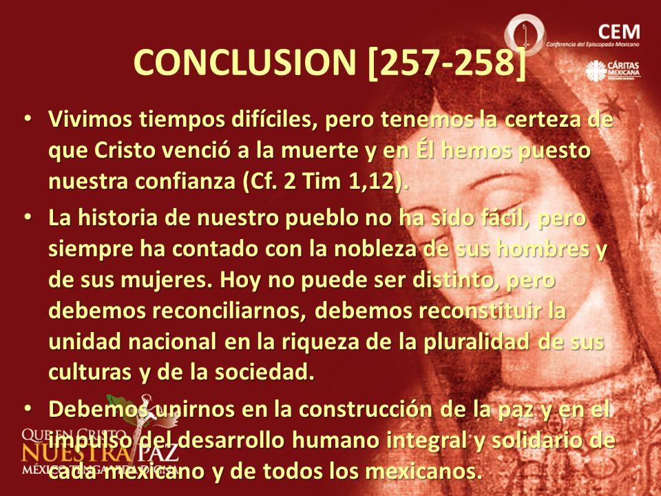 CONCLUSION [257-258]